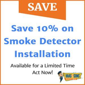 Save 10 Percent On Smoke Detectors